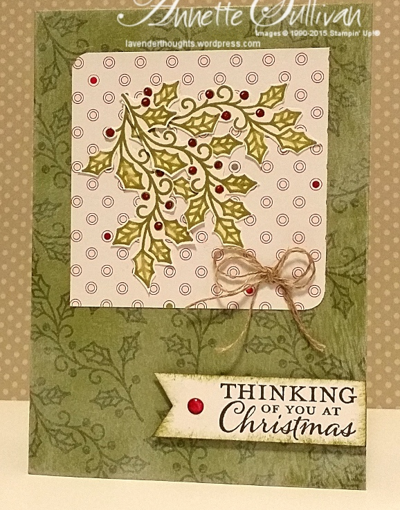 Embellished Ornaments OliveHolly