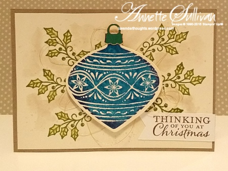 Embellished Ornaments Pacific Point Ornament