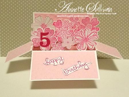 Flower Shop Pirouette Landscape Card in a Box