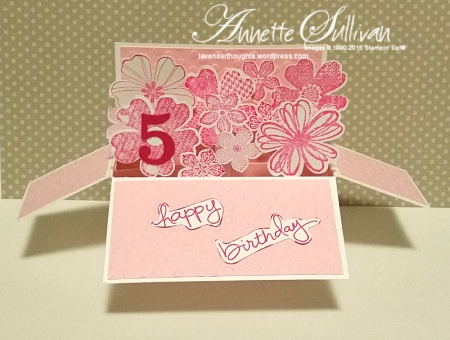 Flower Shop Pirouette Landscape Card in a Box