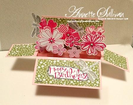 Flower Shop Pirouette Pizzazz Landscape Card in a Box