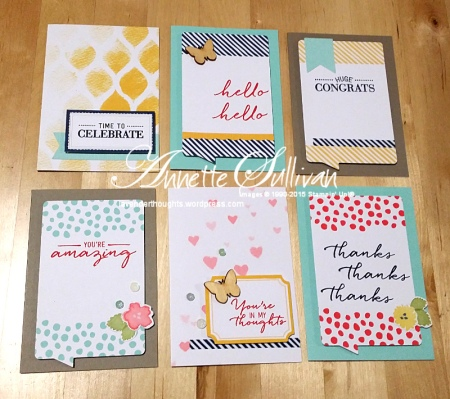 Watercolor Wishes Kit Note Cards