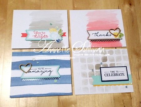 Watercolor Wishes Kit Standard Cards Landscape