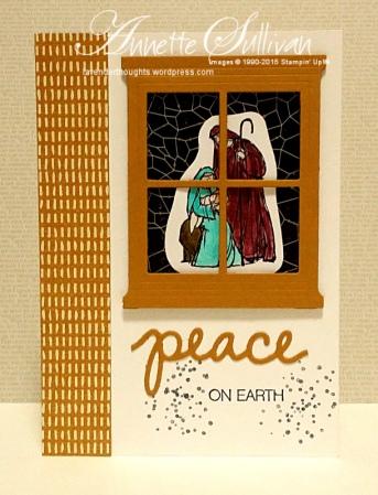 All Ye Faithful Dijon White Peace