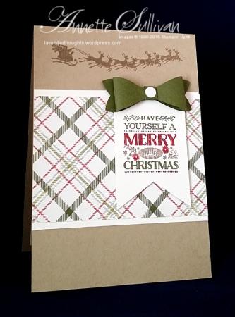Cozy Christmas Mossy Santa Cake