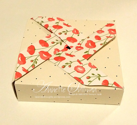 Pretty Petals Pinwheel Box