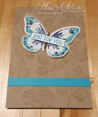 Watercolor Wings Turquoise
