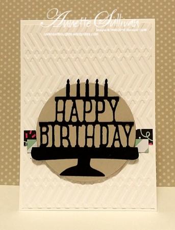 Party Pop-Up Black Sahara Birthday