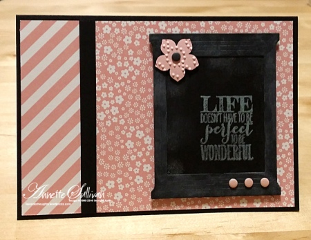 Perfect Pennants Chalkboard Pirouette