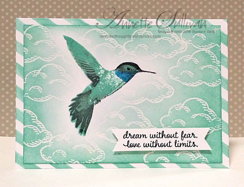 Artful Stampers Team Challenge In The AirParty