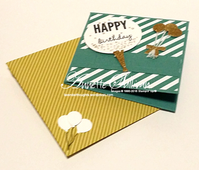 Celebrate Today Gold Lagoon and Envelope