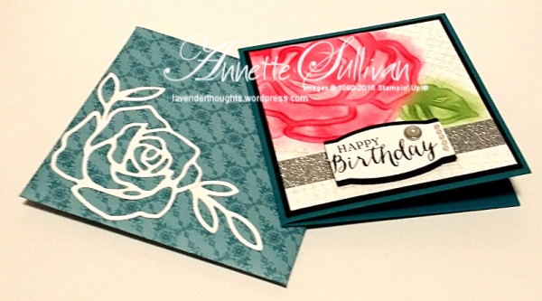 Rose Wonder Island Red and Envelope
