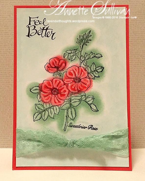 Sweetbriar Rose CrayonResist