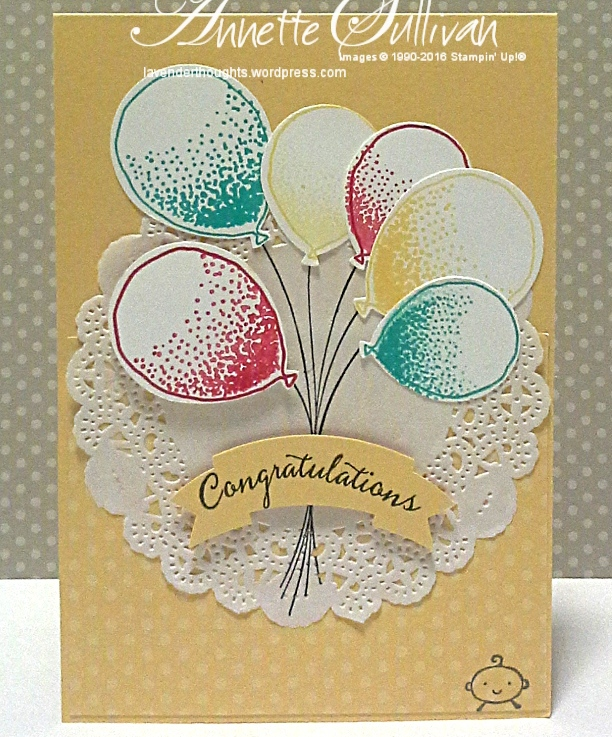 Balloon Celebration SaffronDoily