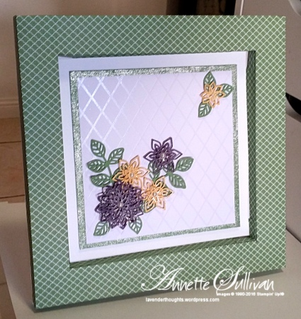 Flourish Wasabi Shadow Box
