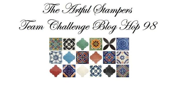 98_artful stampers team challenge hop 15082016 TILES