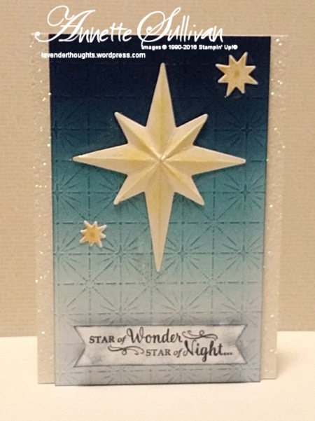 Star of Light Saffron Navy Star