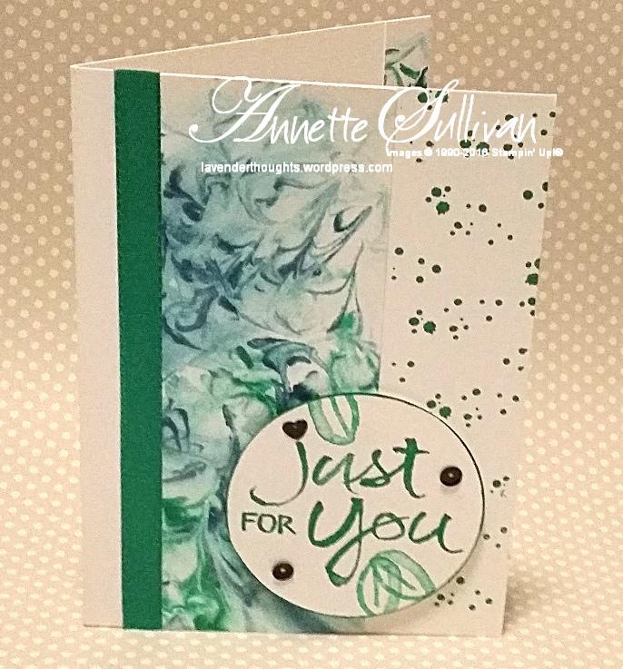 Watercolor Words EmeraldCream