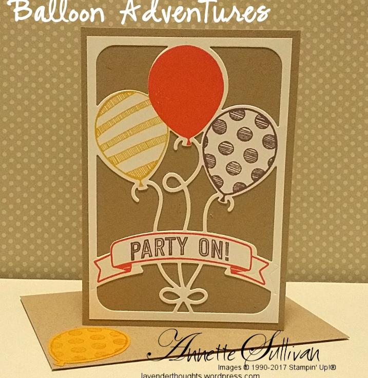 Balloon Adventures Tangerine Curry Plum PartyOn