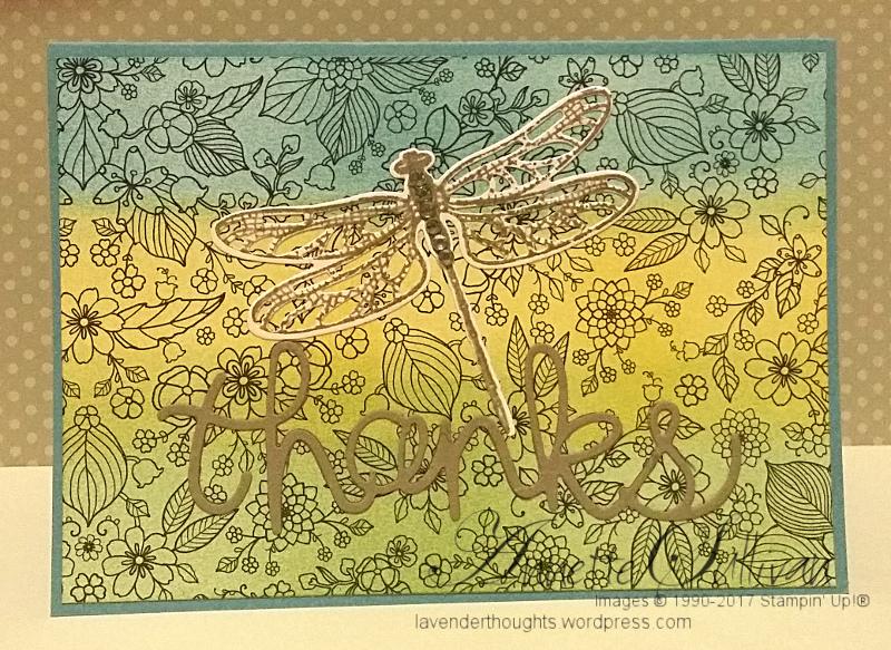Dragonfly Dreams Wasabi Daffodil MistThanks