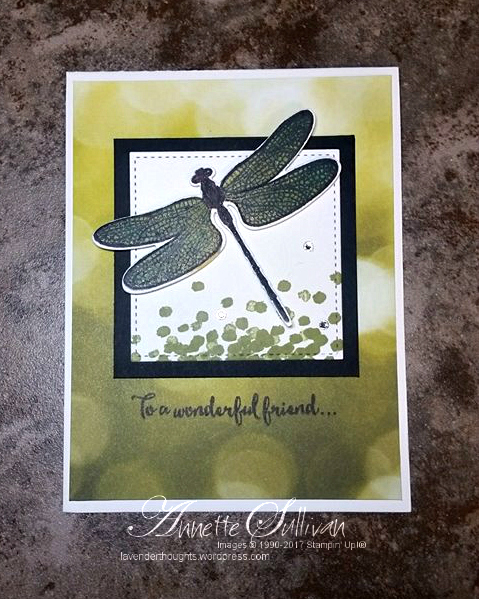 Dragonfly Dreams Wonderful Friend and FREETutorial