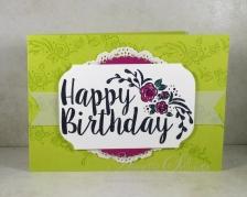 Big on Birthdays Lemon Lime Rose