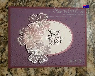 Create some beautiful vellum embossed flowers with Flower Shop and FREETutorial