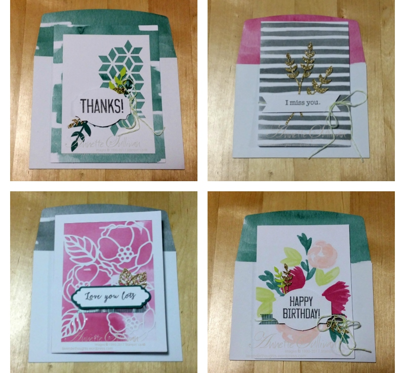 Part 3 – How to Create Quick and Easy Cards with Soft Sayings Card Kit andVIDEO