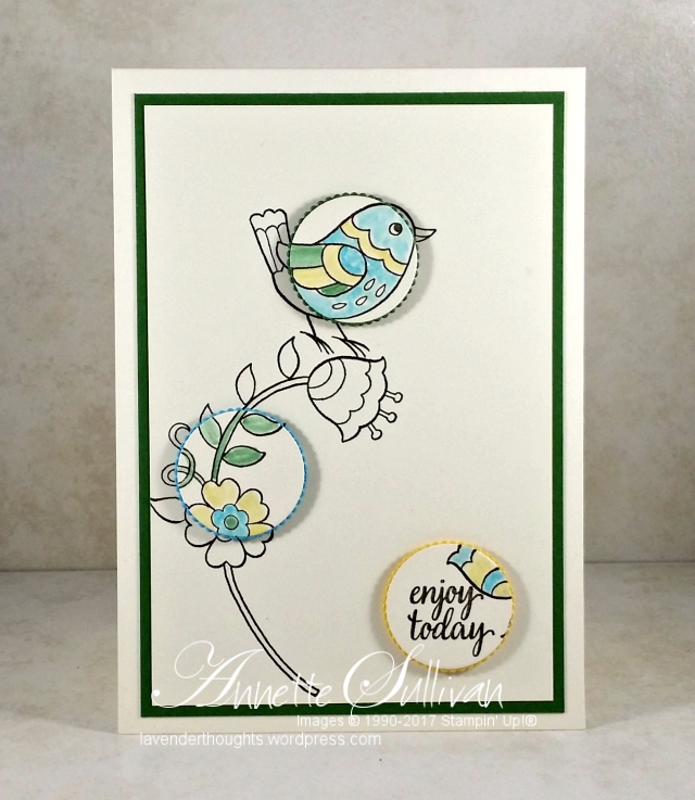 Quick and Easy Cards with Stampin' Up! FeatheryFriends