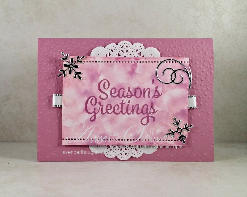 Christmas with SnowflakeSentiments