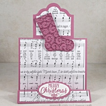 Hang Your Stocking Sugarplum Stand Up Label