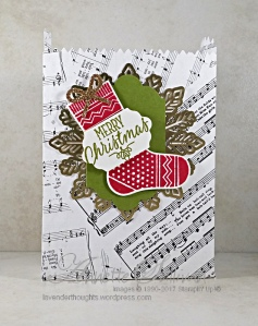 Hang Your Stocking Treat Bag FRONT