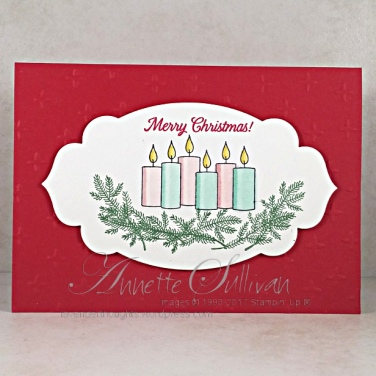 Merry Patterns Candles