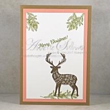 Merry Patterns Suede Deer