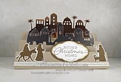 Night in Bethlehem Crumb Cake Step