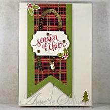 Watercolor Christmas Acetate Box