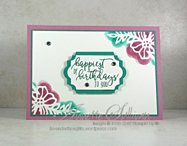 Quick Easy Cards Series 4 Picture Perfect Birthday Video