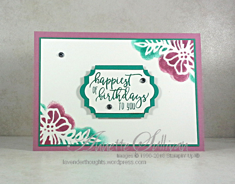 Quick & Easy Cards Series 4 Picture Perfect Birthday +VIDEO