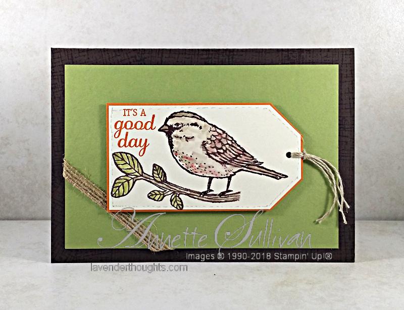 Best Birds Masculine Card with FREEPDF