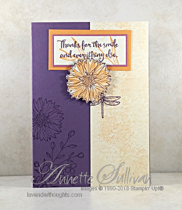 Quick and Easy Card with Touches ofTexture