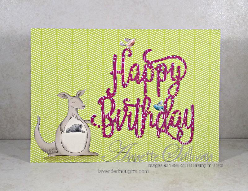 Animal Expedition Birthday Kangaroo plus a FREEPDF