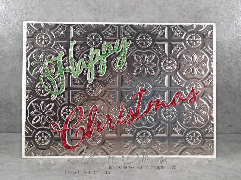 Merry Christmas to All for the Artful Stampers BlogHop