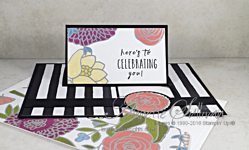Fancy Fold Impossible Card with PerennialBirthday