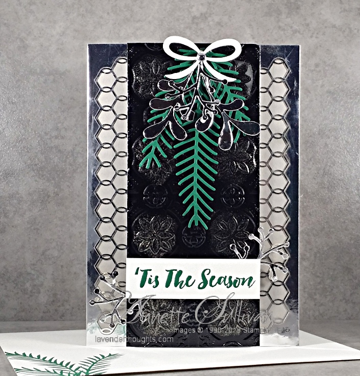 Christmas in Metallics for the Artful Stampers BlogHop