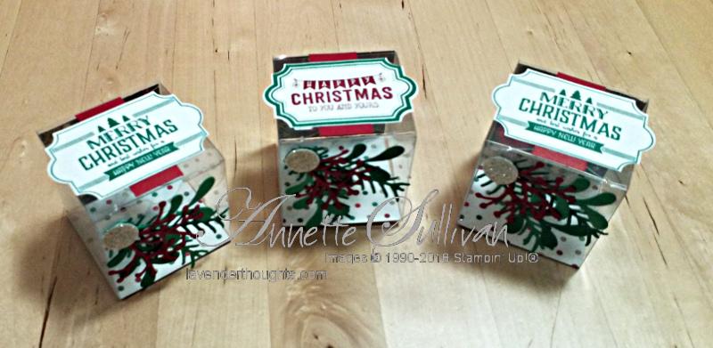 Christmas Treat Box with FREEPDF