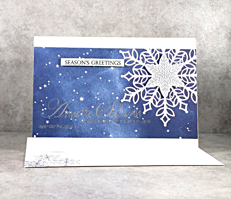 Last Day for Snowflake Showcase – Snow is Glistening for the SketchChallenge