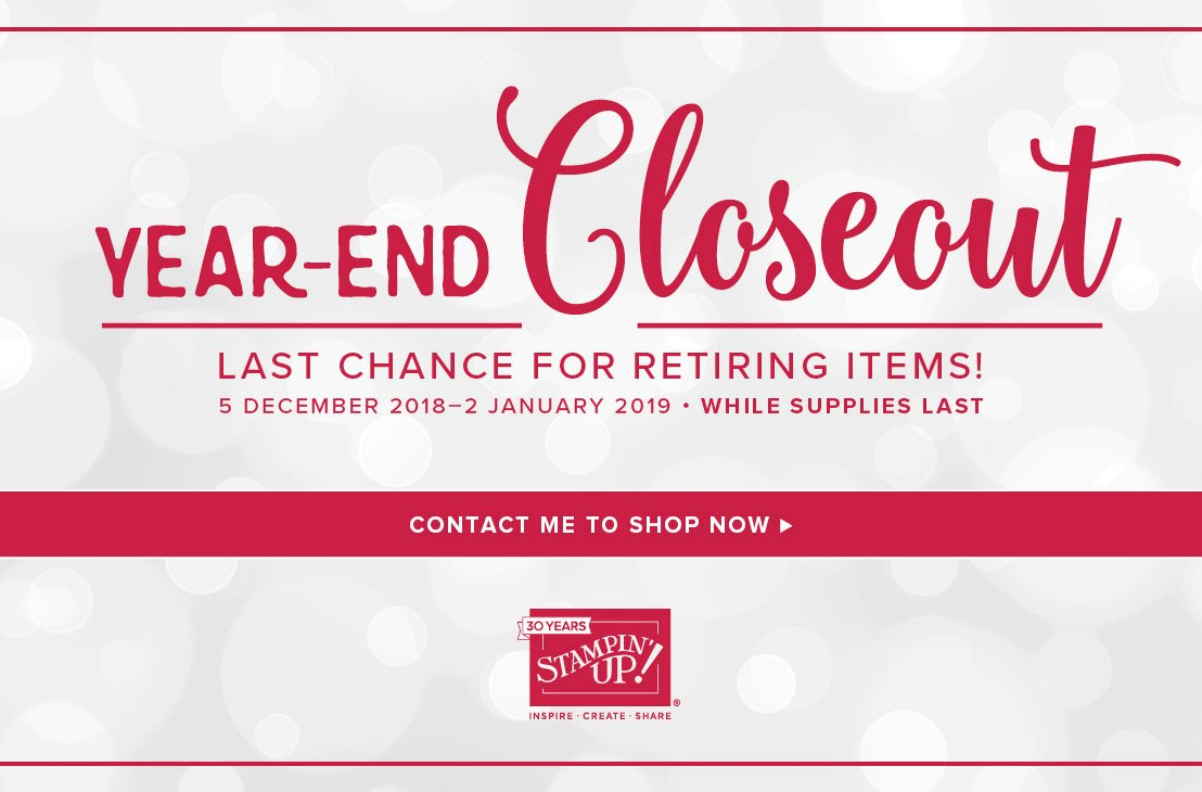 Year-End Closeout Sale
