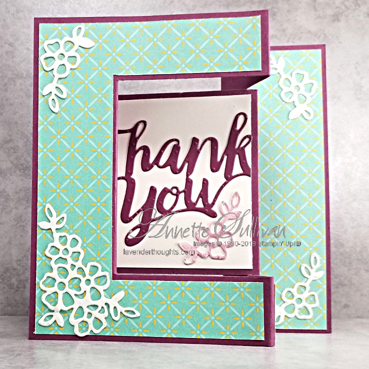 Fancy Tri Fold Card withVIDEO