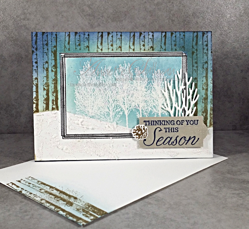 Winter Woods and Swirly Frames withMasking