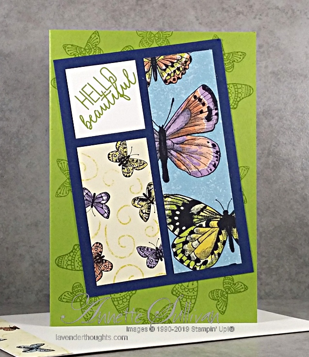 Showcasing more of the Botanical Butterfly Designer SeriesPaper